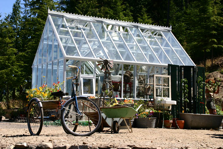 12x20 White Cape Cod Greenhouse