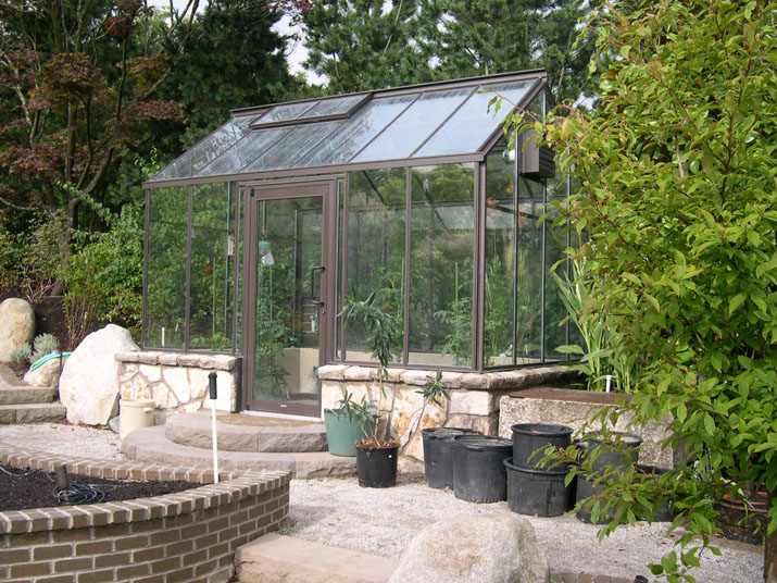 Cottage Greenhouse with Custom Door Placement