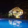 pool greenhouse