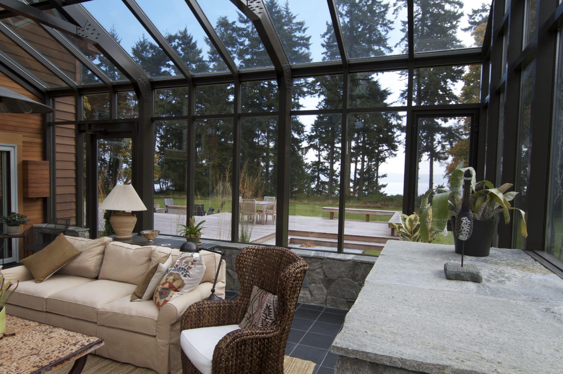 greenhouse install