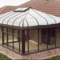 Custom Curve Hip Attached Greenhouse