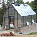 homemade greenhouse