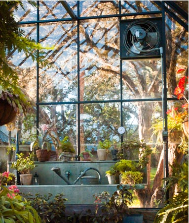 Greenhouse Heating and Cooling Systems