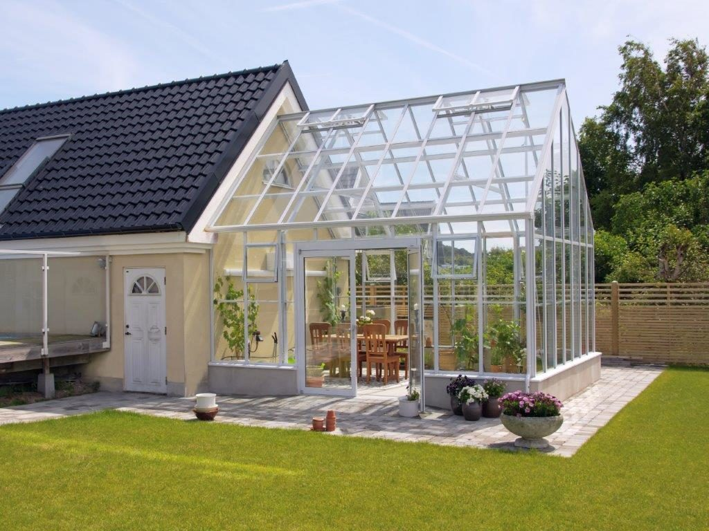 gable attached greenhouse